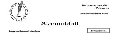 Stammdaten Steuerbüro Zietmann