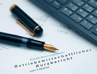 Betriebswirtschaftliche Auswertung BWA